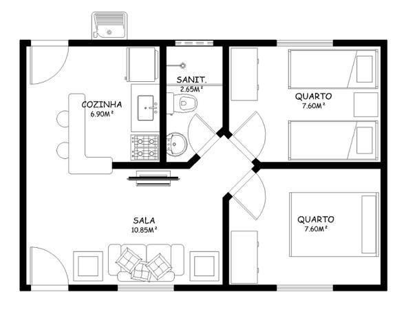 2-plantas_de_casas_com_cozinha_americana