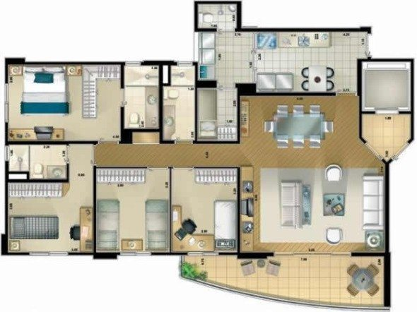 8-plantas_de_casas_com_cozinha_americana