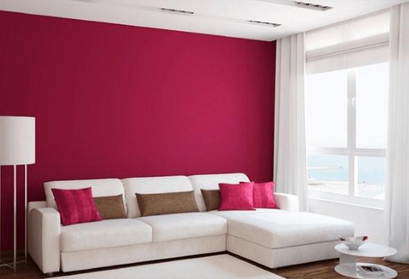 3-Como evitar mancha branca em paredes coloridas