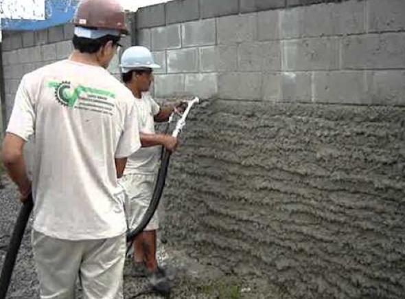 Como chapiscar uma parede-3