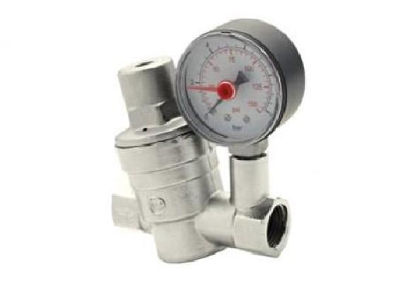 Registro regulador de pressão da água.