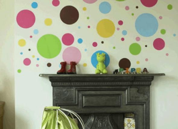 1-Bolas coloridas para decorar a casa