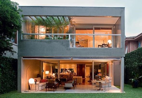 1-Casas com linhas retas
