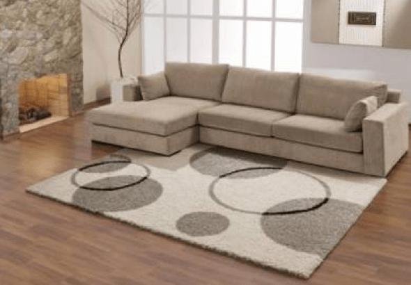 1-Tapetes para sala de estar modelos