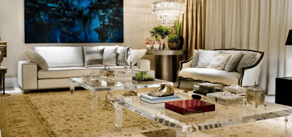 11-Tapetes para sala de estar modelos