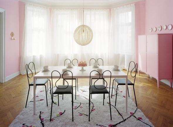 12-tapetes para sala de jantar