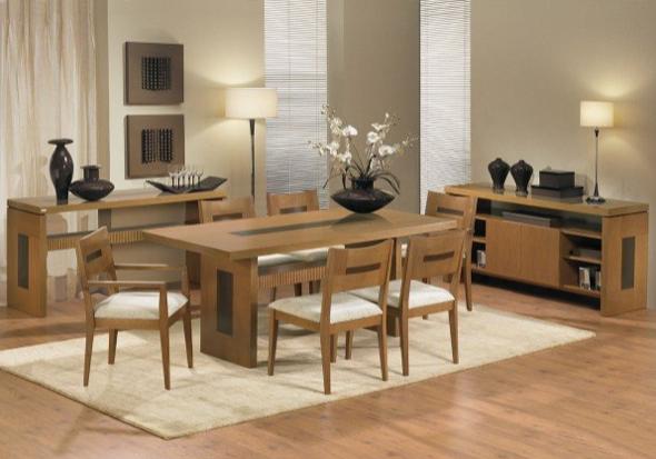 13-tapetes para sala de jantar