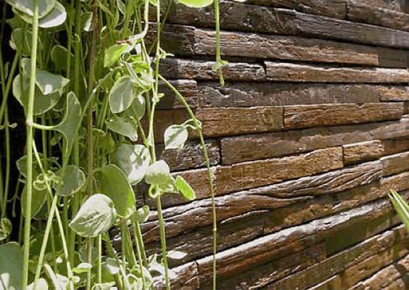 14-Tacos de madeira para revestir parede externa