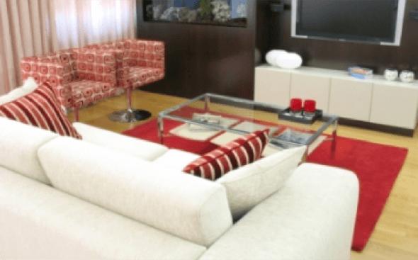 17-Tapetes para sala de estar modelos