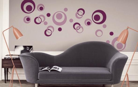 2-Bolas coloridas para decorar a casa