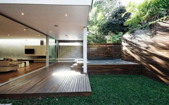 3-Tacos de madeira para revestir parede externa