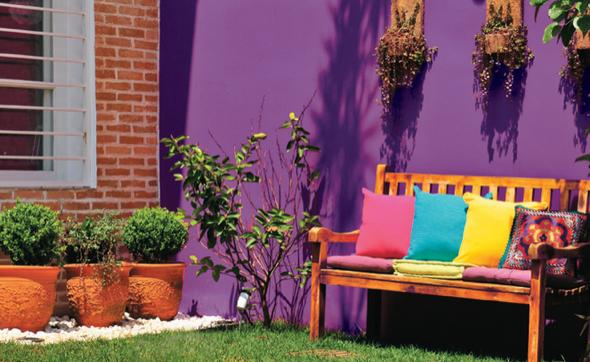 5-qual a melhor cor para pintar os muros de casa