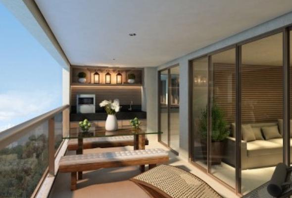 Como montar uma sala de estar na varanda do apartamento-11