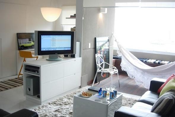 Como montar uma sala de estar na varanda do apartamento-3