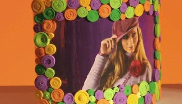 13-Como fazer porta-retrato para decorar