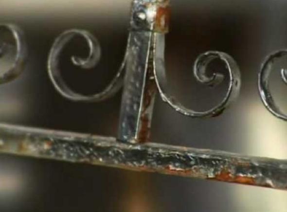 Como pintar objetos de ferro antigo -1