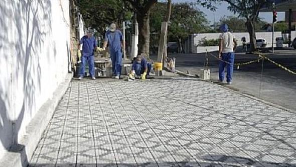 Como reformar uma calçada 004
