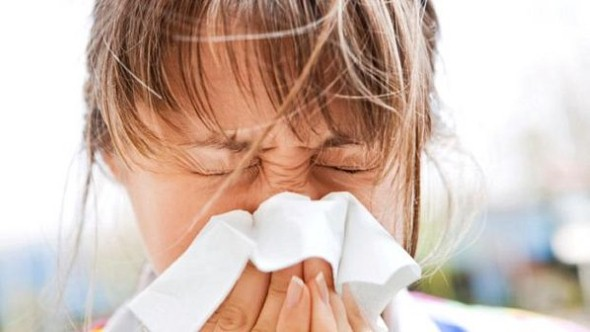 Sintomas de alergia.