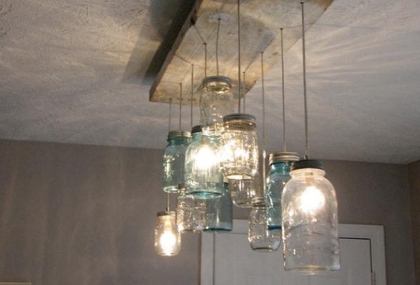 6-Como montar uma luminária pendente reciclável