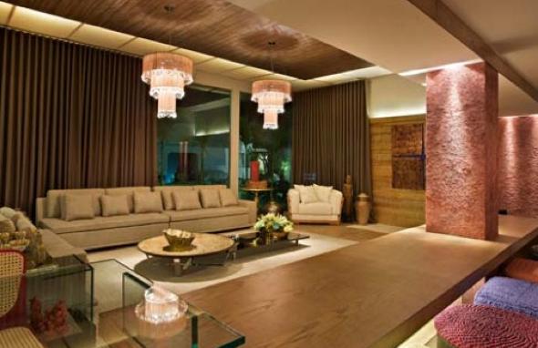 Como decorar pilares dentro de casa-10