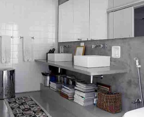 Decoração em concreto aparente em casas e apartamentos-11