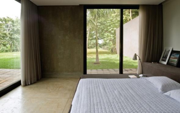 Decoração em concreto aparente em casas e apartamentos-15