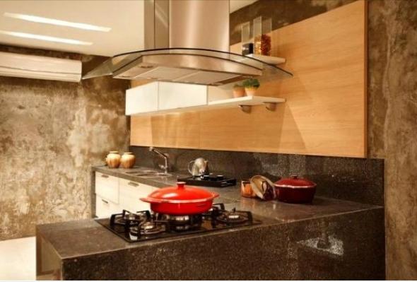 Decoração em concreto aparente em casas e apartamentos-4