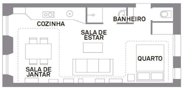 1-Apartamentos com planta livre