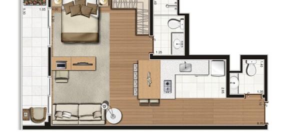 11-Apartamentos com planta livre
