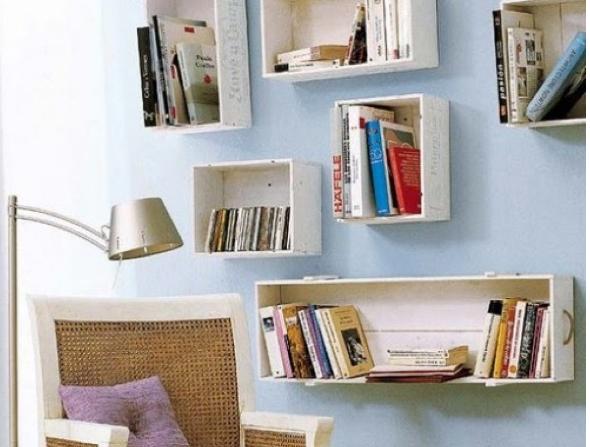 13-Como expor livros em sua casa