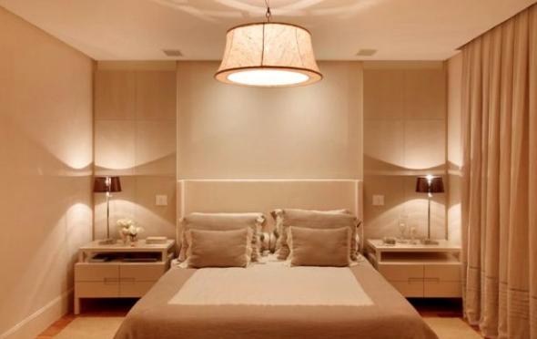2-Usar luminárias pendentes no quarto