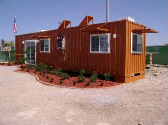 3-Casas de container