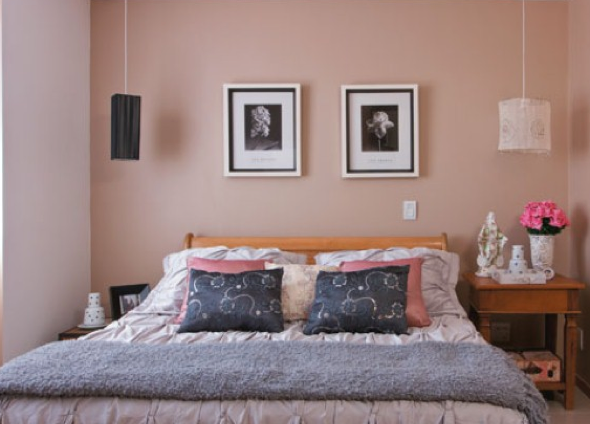 5-Usar luminárias pendentes no quarto
