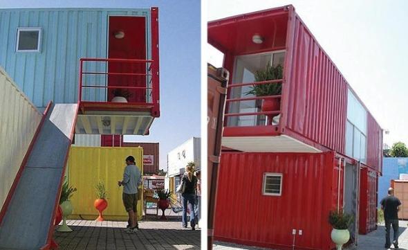 8-Casas de container