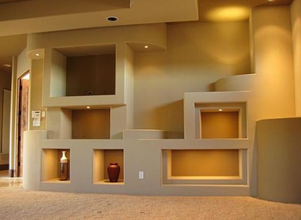 1-Projetos em drywall para salas