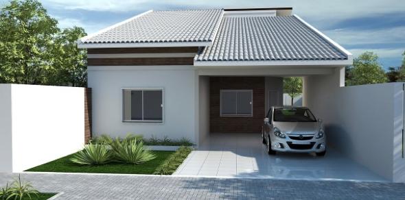 10-Fachadas de casas em cores claras a nova tendência