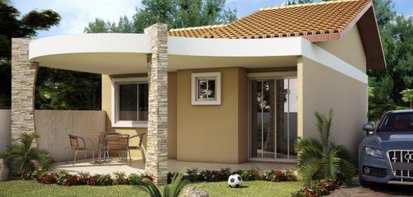 12-Fachadas de casas em cores claras a nova tendência