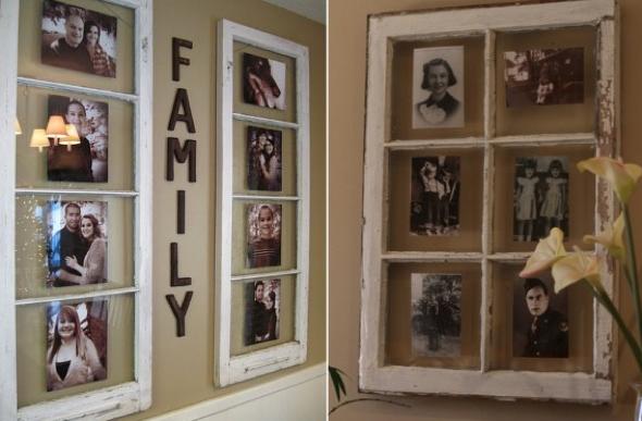 3-Janelas com espelhos e retratos na decoração