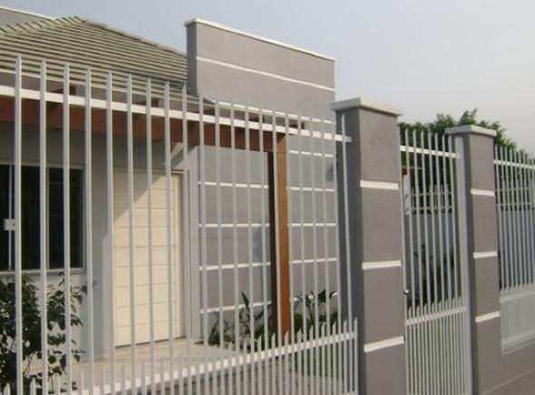 4-Fachadas de casas em cores claras a nova tendência