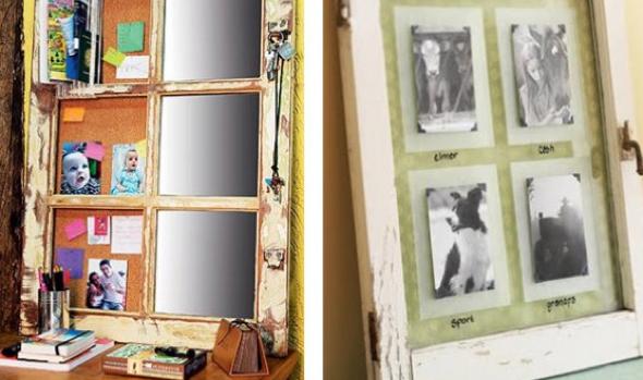 7-Janelas com espelhos e retratos na decoração