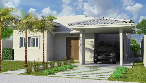 8-Fachadas de casas em cores claras a nova tendência