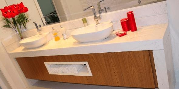 Bancada para banheiro os melhores modelos