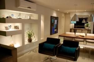 Projetos em drywall para salas 010