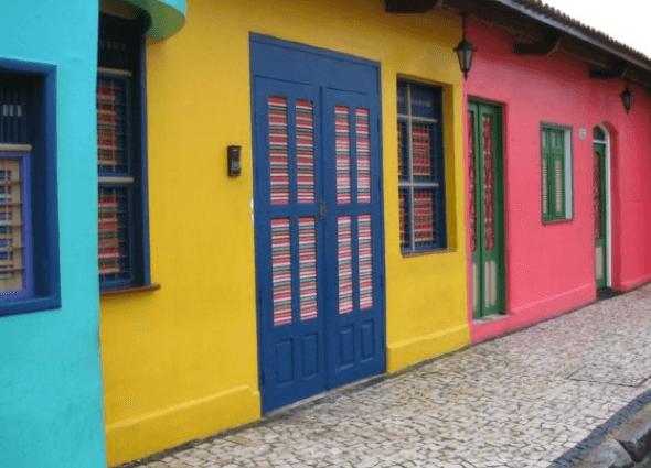 1-Portas coloridas para casa