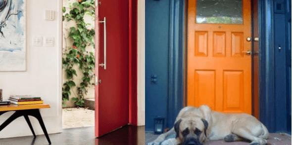 13-Portas coloridas para casa