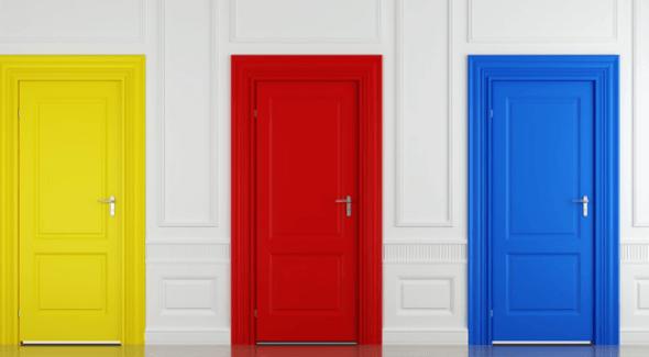 19-Portas coloridas para casa