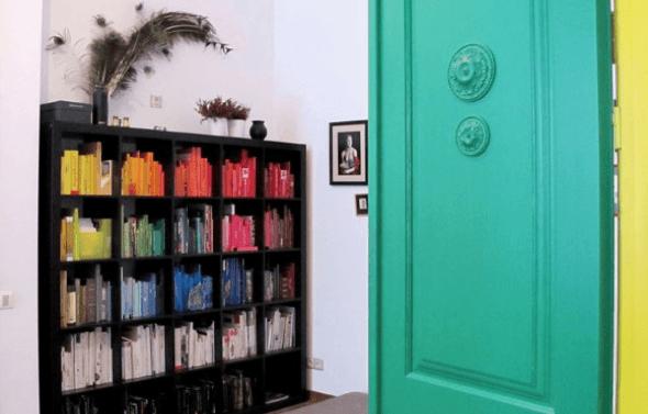 6-Portas coloridas para casa