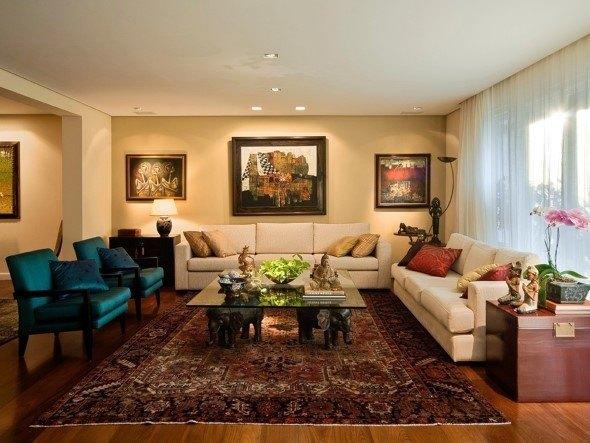 Resultado de imagem para Como decorar a sala de estar