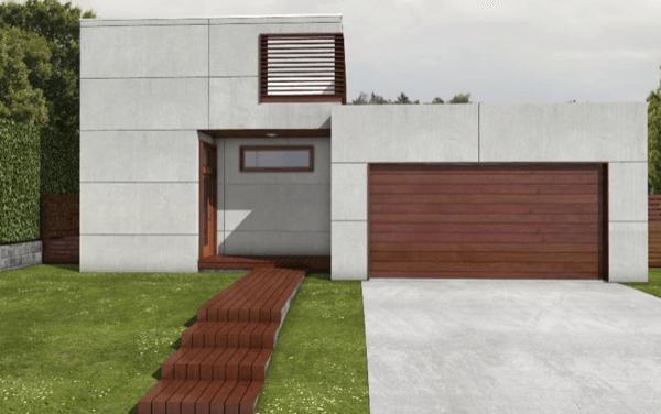 1-Linda casa com linhas retas com 182m2