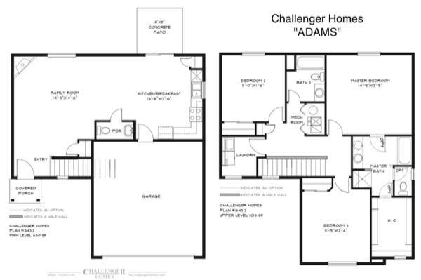 11-plantas de casas duplex modelos
